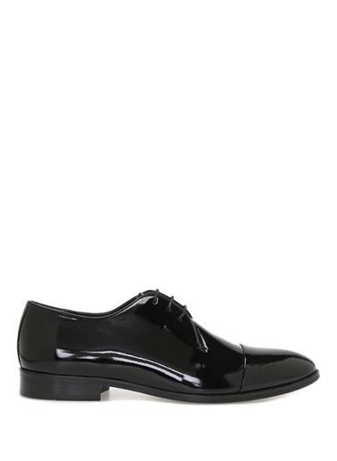 Beymen Club %100 Deri Bağcıklı Klasik Ayakkabı Siyah